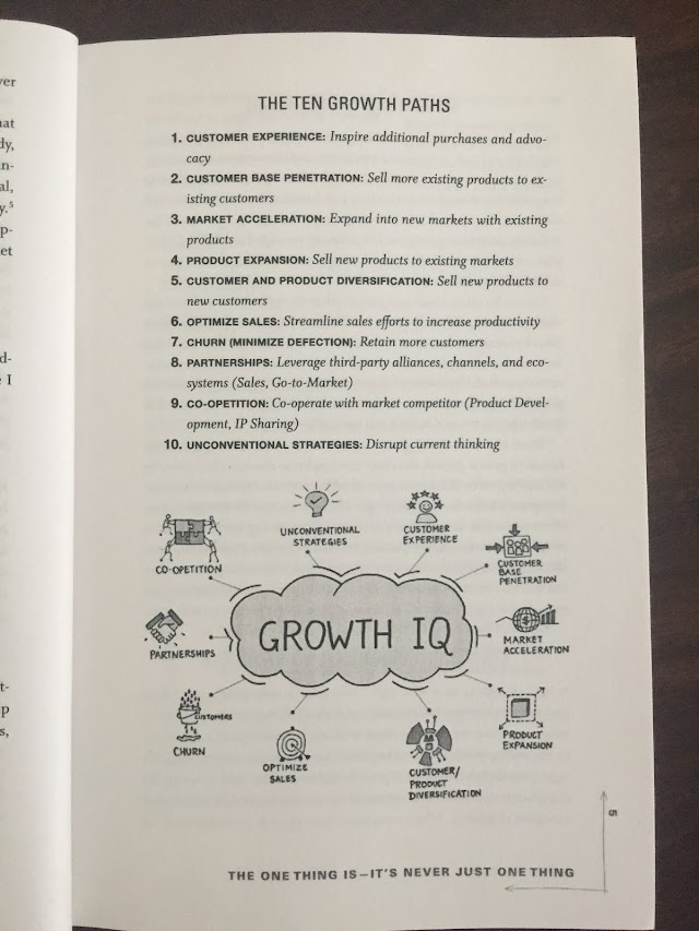 10 #Growth paths in book Growth IQ for your business