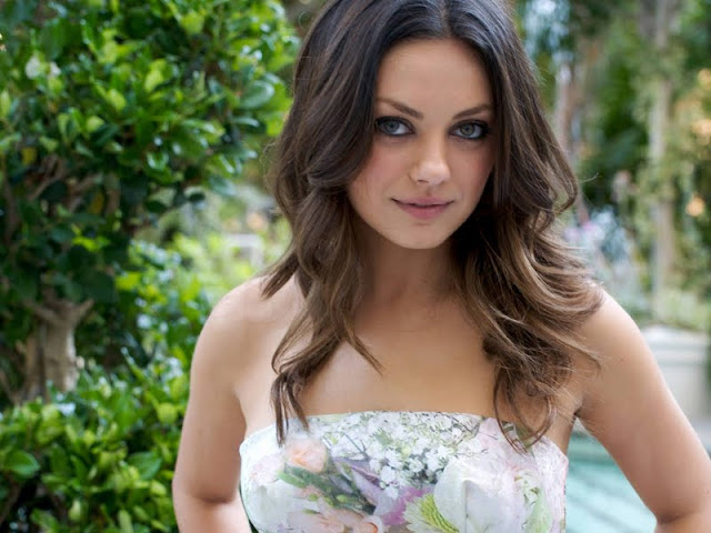 Mila Kunis have a beautiful face