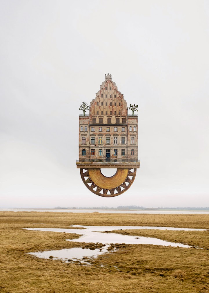 surreal houses collages matthias jung-1