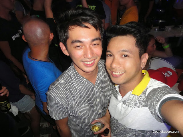 With Mr. King Perez of TV 5 - Cebu. :D