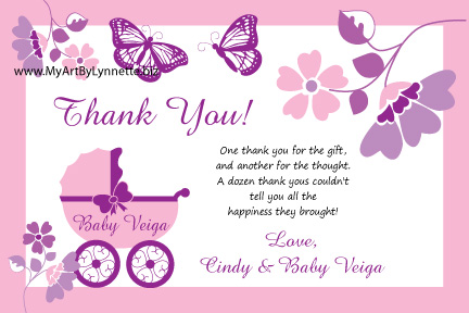 lynnetteart monarch butterfly buggy baby shower invitation