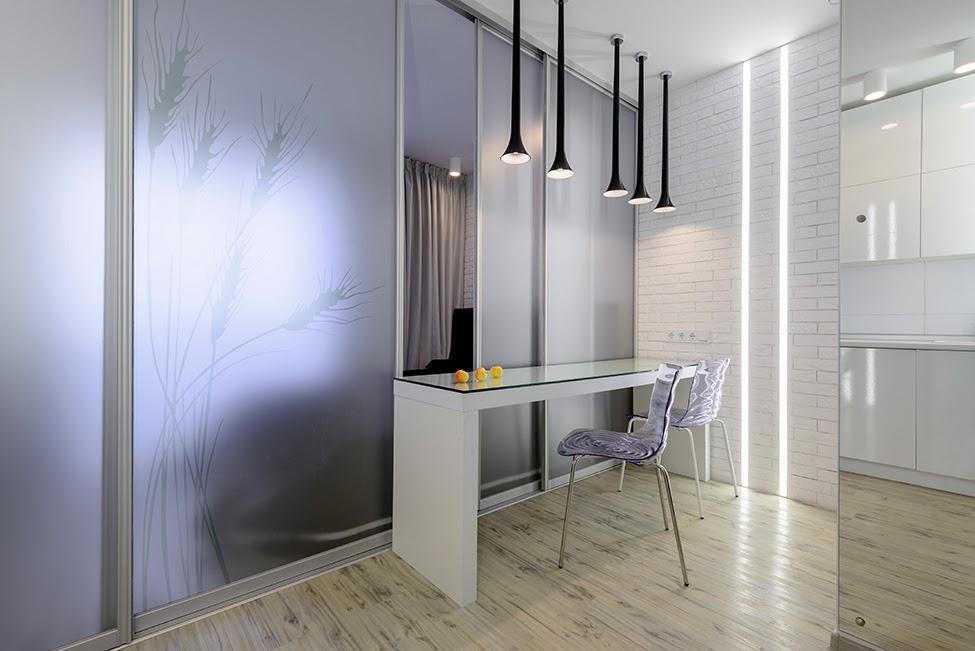 Дизайн студии 18 кв.м фото