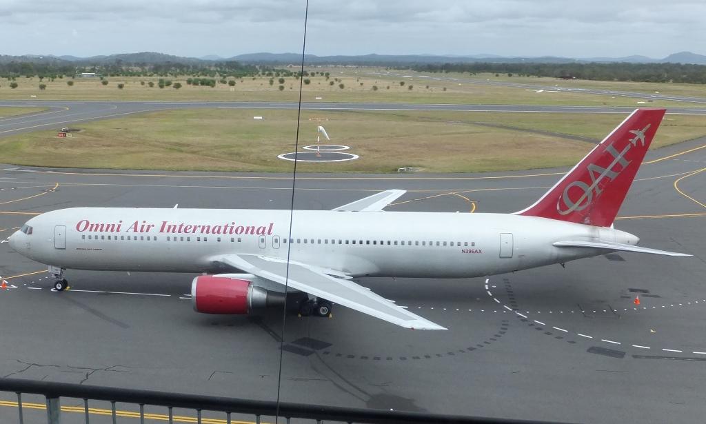 Omni Air International N819ax Aircraft At Birmingham