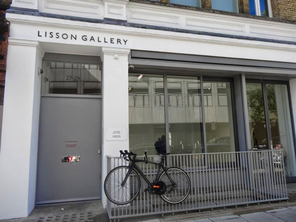 Ai Weiwei Exhibition at Lisson Gallery, London Entrance