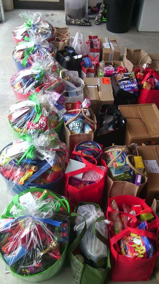 Gab's home based childcare Christmas Hampers 2014
