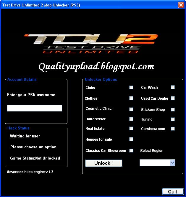 test drive unlimited 2 v034 build 16 crack