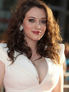 Kat Dennings Big Boobs Cleavage Thor Premiere
