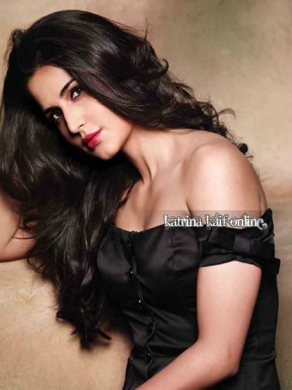Katrina Kaif Hot HD latest Photo from FHM in black dress - (5) -  Katrina Kaif FHM – July 2012 HQ Scans