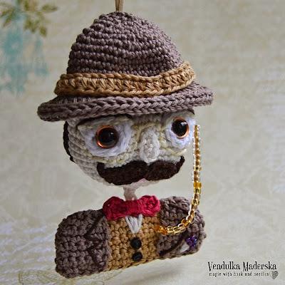 Crochet Hercule Poirot