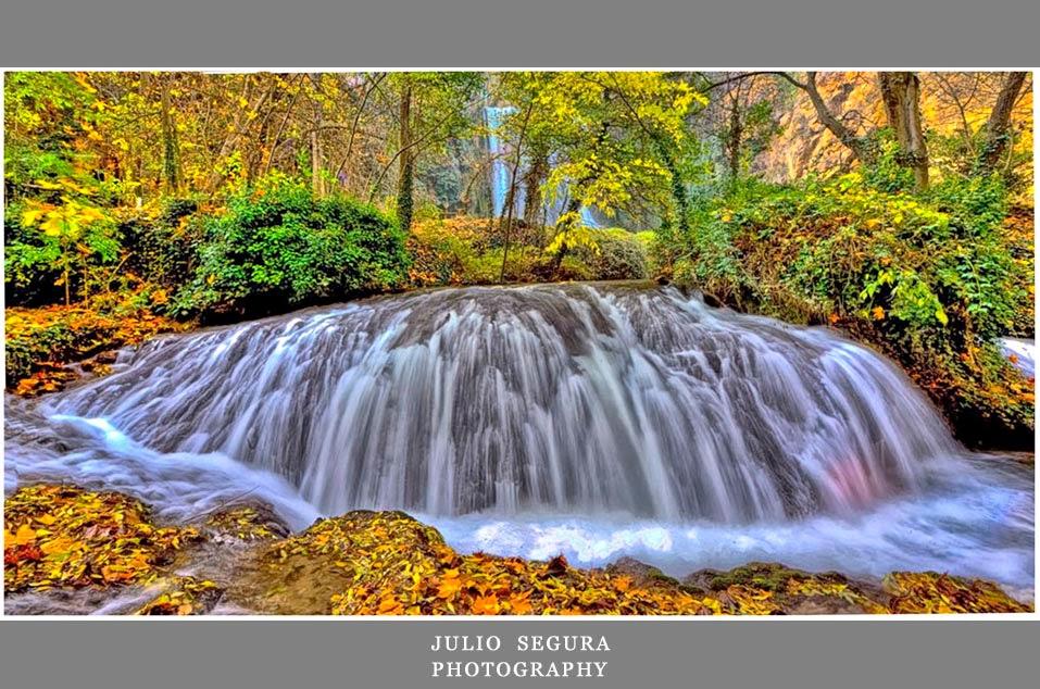 cascadas-foto obra de Julio Segura
