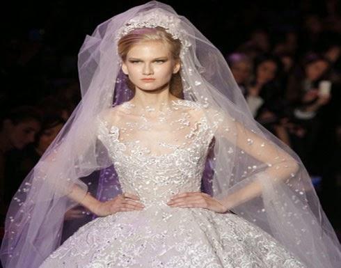 إيلي صعب يُلهم العروس بمكياج عصري ومتناغم