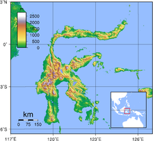 Paskibraka, Paskibra: Pulau Sulawesi