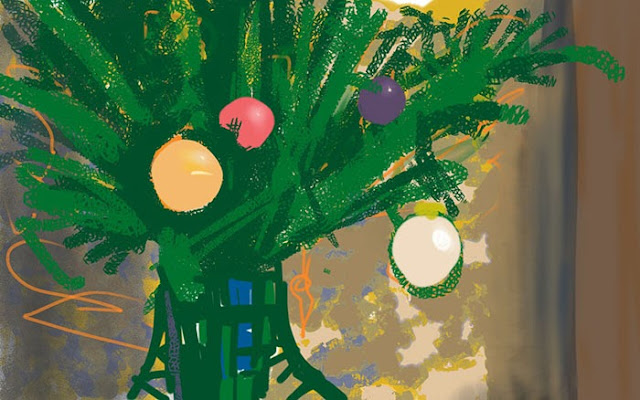 New year tree by Gregory Avoyan