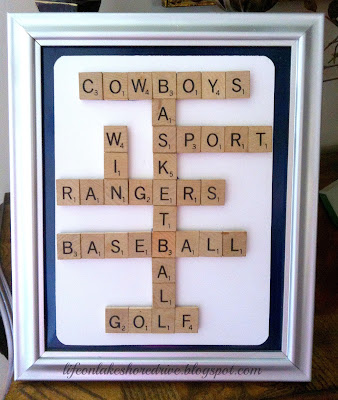 "alt=""Sports Scrabble and Sports Baseball wreath"""