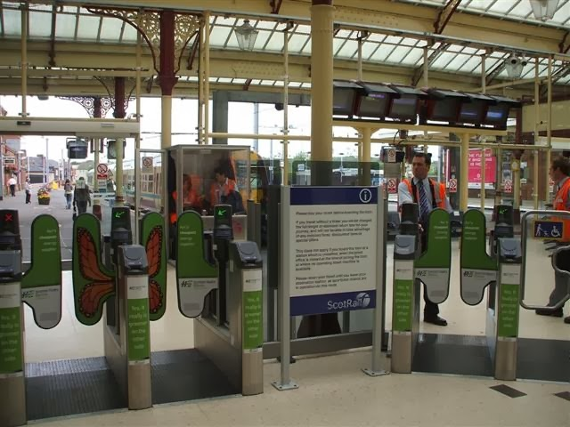 Train Station Advertising