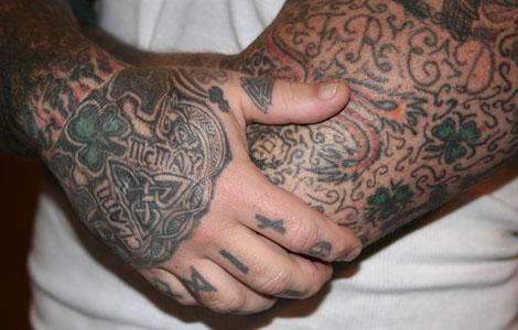 aryan brotherhood tattoos que la historia me juzgue