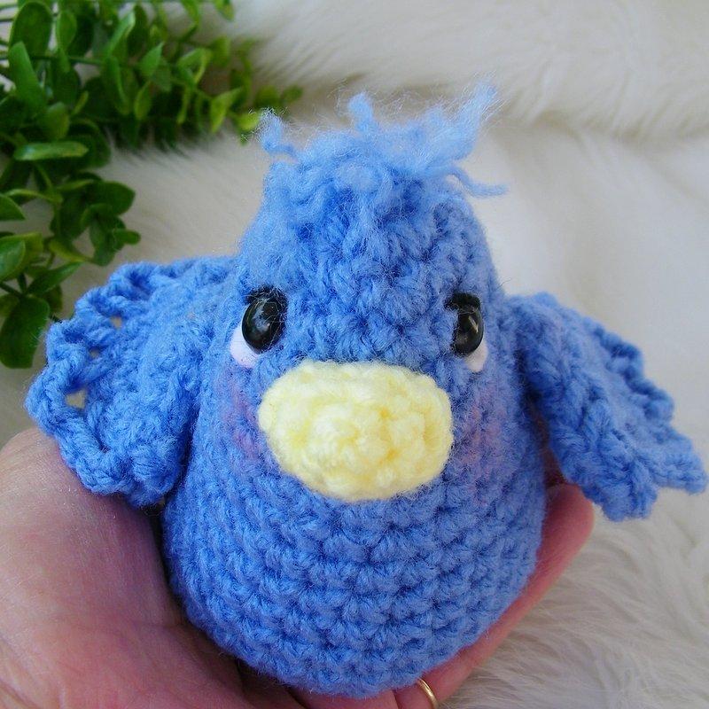 Teris Blog Free Simply Cute Blue Bird Crochet Pattern