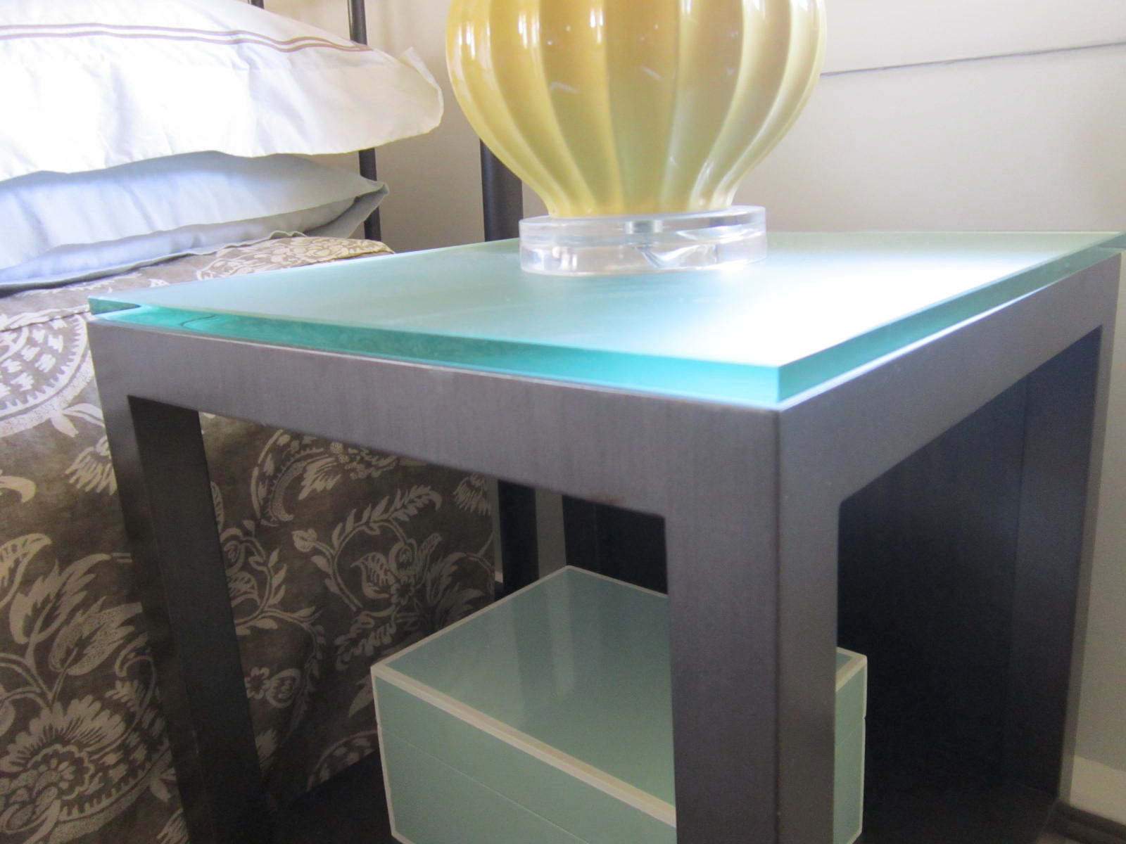 Lamp Base On Table