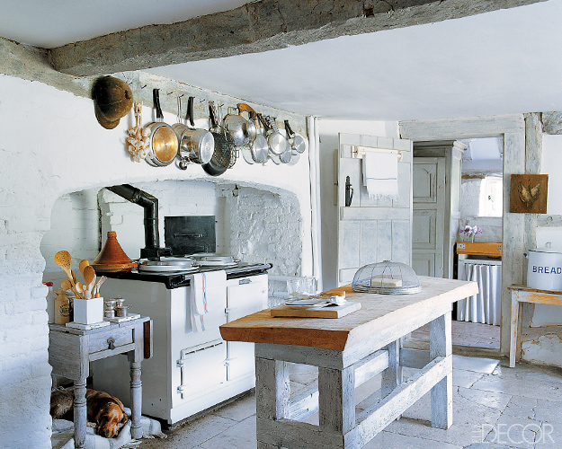 D cor de provence rustic kitchen for Country rustic kitchen ideas