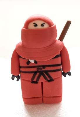 Ninjago Kai fondant
