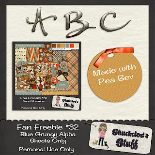 Facebook Fan #32 Freebie