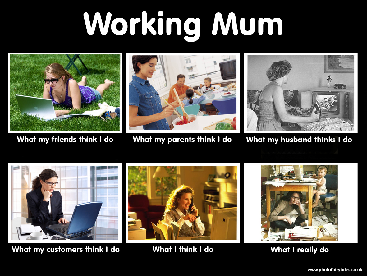 working home mums