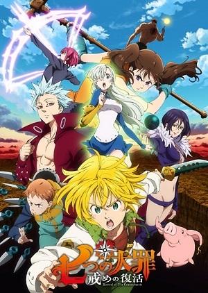 Nanatsu no Taizai - Imashime no Fukkatsu 2ª Temporada Desenhos Torrent Download capa