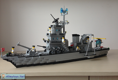 Enlighten Brick Toy Navy Ship 3