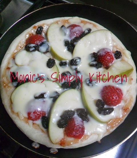 pizza teflon manis