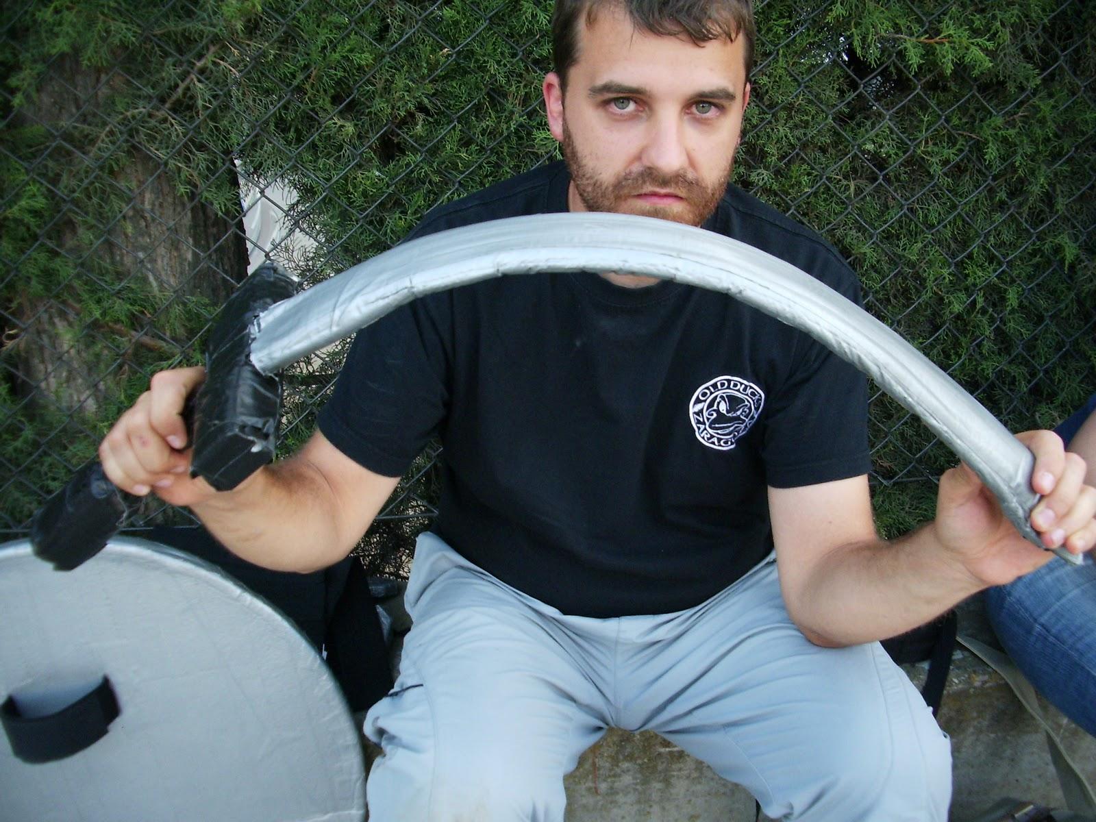 Las forjas de skilfngheim c mo fabricar espadas de - Varillas fibra de vidrio ...