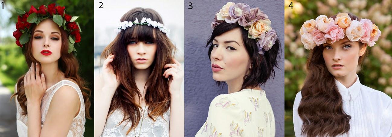 Flower Crown DIY lookbook trend