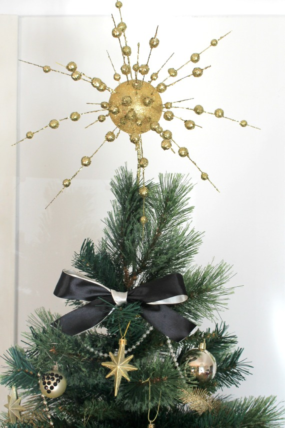 DIY Art Deco Christmas Tree Christmas Ornaments Decorations