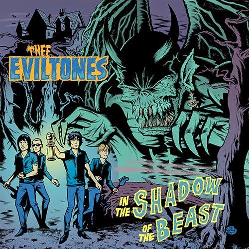 THEE EVILTONES - In the Shadow of the Beast CD/LP
