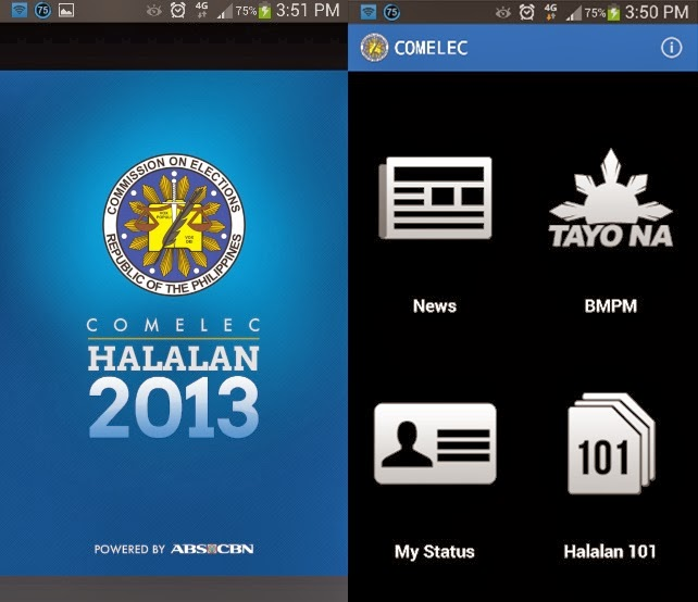 Abs Cbn Latest News Update: ABS-CBN Updates COMELEC Halalan App For 2013 Barangay