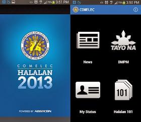 COMELEC Halalan app for Barangay elections updated