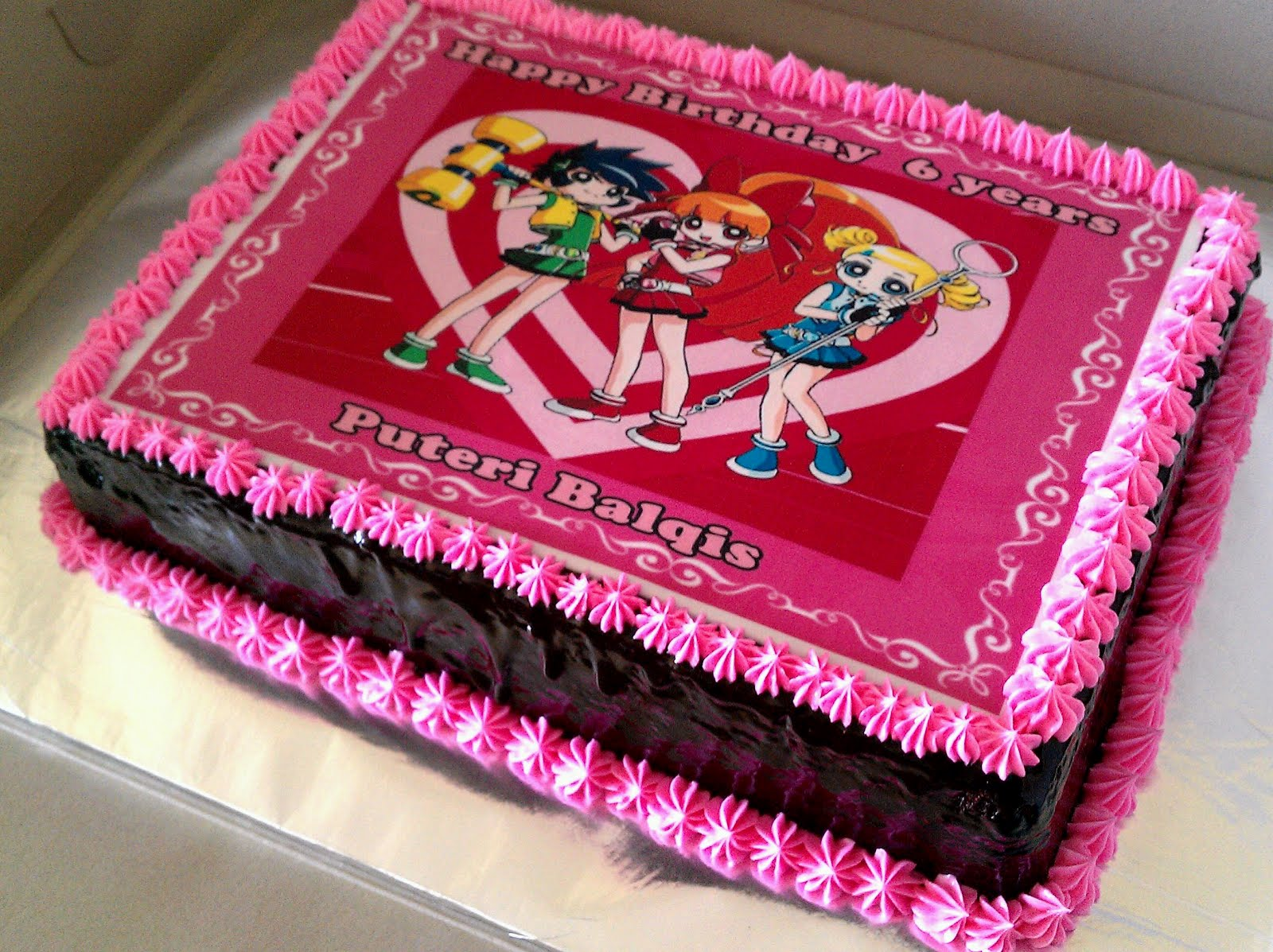 Zairie Homemade Delights Power puff Cake