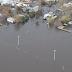 Inundaciones: Fotos áreas de Durazno y TyTres. Casi 6000 evacuados