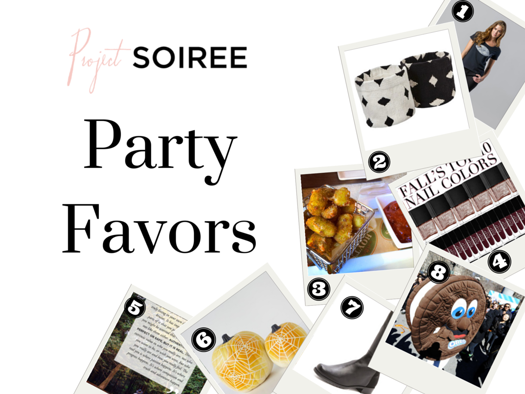 Project Soiree, Party Favors