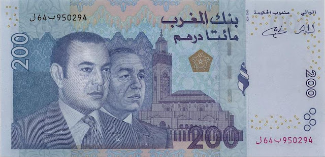 Moroccan dirham morocco