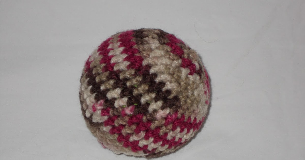 Stitchin The Night Away Crochet Ball Cover