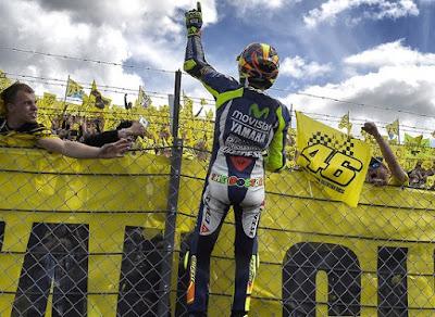 GP Jerman: Rossi Takut Ditinggal Ngacir Lorenzo, Juga Harus Hati-hati dengan Marquez