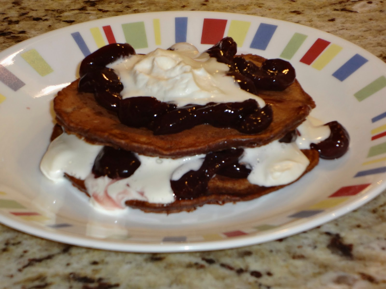 The Virtual Goody Plate: Black Forest Pancakes