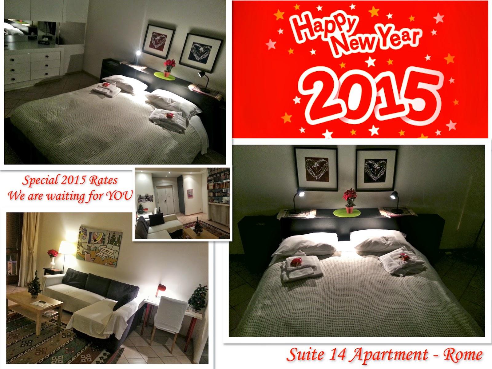 Suite 14 roma happy new year 2015 - Lenzuola da colorare romane ...