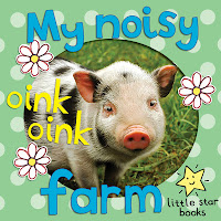 cover picture of My Noisy Farm, a children's illustrated ebook about farm animals