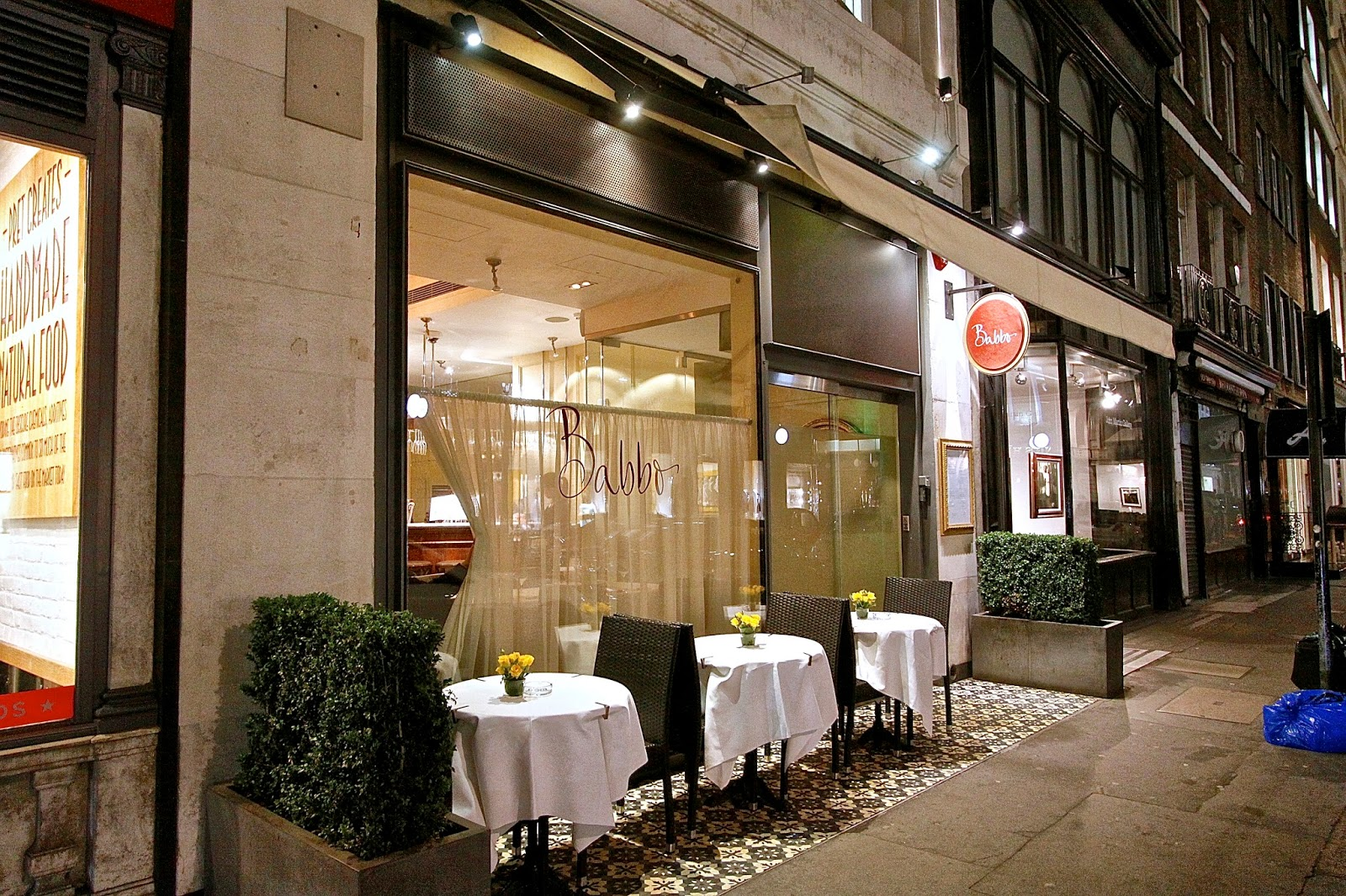 The london foodie babbo the italian daddy of london 39 s for The mayfair