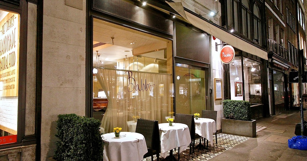The London Foodie Babbo The Italian Daddy Of London S