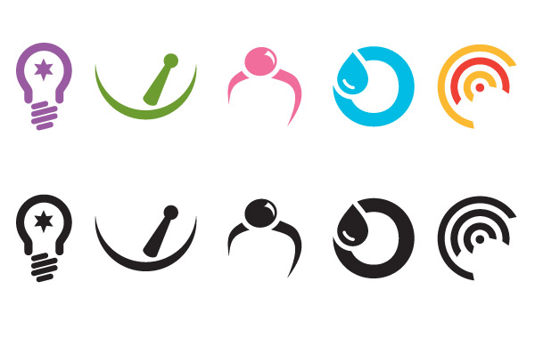 Vector Logo Icons Meenix Free Vector Design Templates For Your New - Logo layout templates