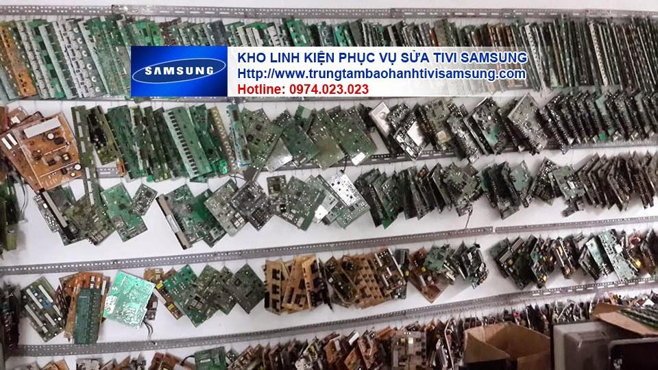 Hình ảnh Phòng kỹ thuật sửa chữa nguồn, main, cao áp, Tcom của tivi Samsung