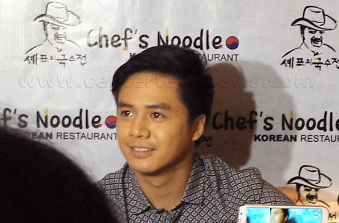 Sam Concepcion is New Endorser of Chef's Noodle Philippines