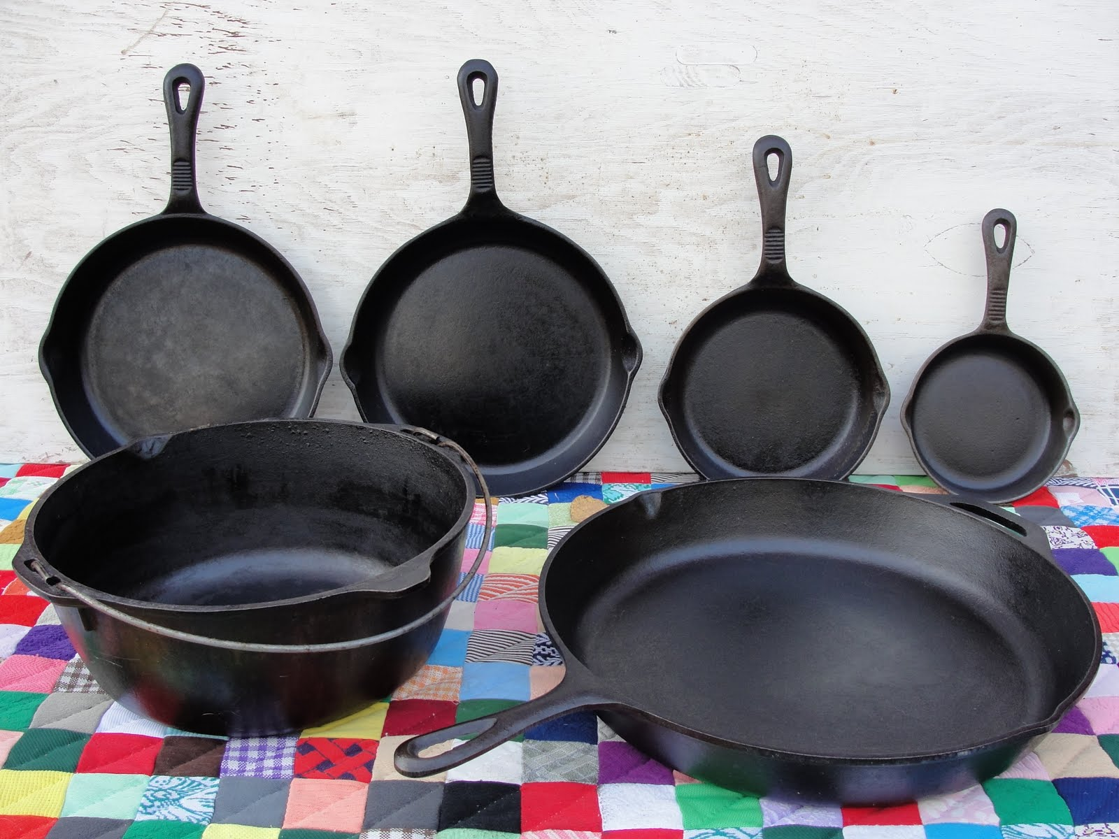 Rise and shine cooking with cast iron